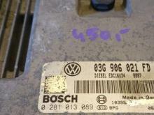 Blok upravleniya Volkswagen Golf V (Folyksfagen Golyf), 03G906021FD