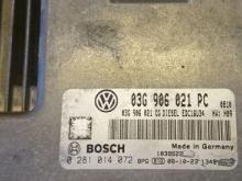 Blok upravleniya Volkswagen Caddy 03- (Folyksfagen Kaddi), 03G906021PC