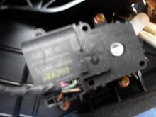Aktuator pechki Chevrolet Captiva 07- (Shevrole Kaptiva), 96629731
