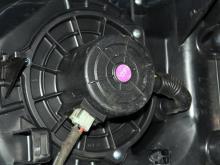Ventilyator otopitelya Hyundai I10 09- (Hyunday AY), 97113-0X000
