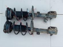 Amortizator peredniy levyy Nissan Micra 02- (Nissan Mikra), E43A3-BC60A